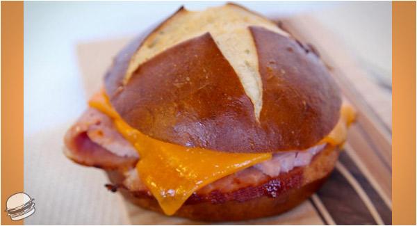 German Oktoberfest Sandwich Damn That Looks Good