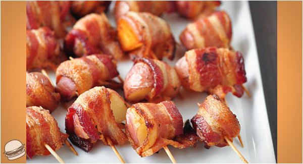 ... bacon wrapped bacon wrapped idaho potato bacon wrapped potatoes with