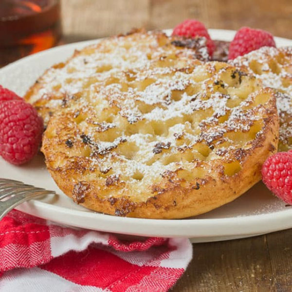 English Muffin French Toast | Damn That Looks Good