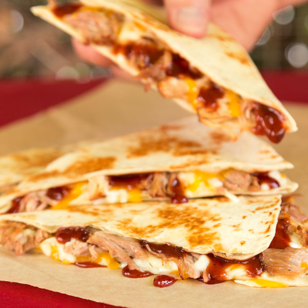 Pork BBQ Quesadilla